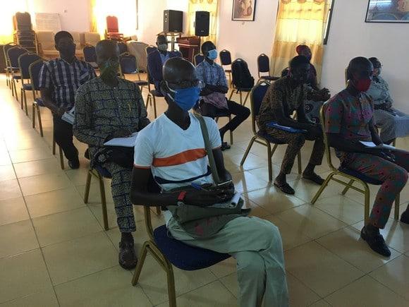 Aného-VIH Vue partielle participants